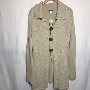 Jason Maxwell Comfy Oversized Cardigan
